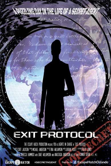 Exit Protocol Escape Room in Orlando, Florida